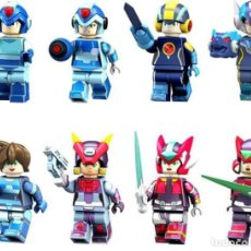 Reproducciones Figuras de Acción: LOTE DE 8 FIGURAS COMPATIBLES CON LEGO MEGAMAN ROCKMAN. Lote 151666742
