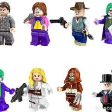 Reproducciones Figuras de Acción: LOTE DE 8 FIGURAS COMPATIBLES CON LEGO SUPER HEROES (AL PACINO, ELTON JOHN, JOKER, SHARON CARTER, EL. Lote 151666922