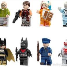 Reproducciones Figuras de Acción: LOTE DE 8 FIGURAS COMPATIBLES CON LEGO SUPER HEROES (JASON VOORHEES, HEADHUNTERS, HARLEY QUINN, ZOMB. Lote 151666954