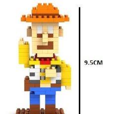 Reproducciones Figuras de Acción: CONSTRUCCIONES TIPO LEGO DE TOY STORY WOODY 178 PIEZAS. Lote 154433122