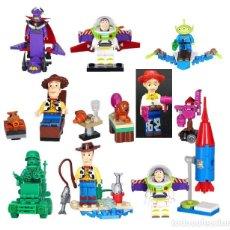 Reproducciones Figuras de Acción: LOTE DE 8 FIGURAS COMPATIBLES CON LEGO TOY STORY. Lote 155426294