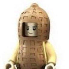 Reproducciones Figuras de Acción: FIGURA COMPATIBLE CON LEGO DE CACAHUETE. Lote 156783706