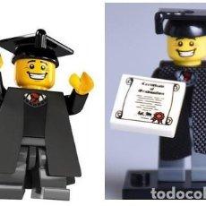 Reproducciones Figuras de Acción: FIGURA COMPATIBLE CON LEGO DE GRADUADO GUARDIA IMPERIAL. Lote 156783722
