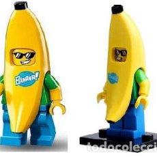 Reproducciones Figuras de Acción: FIGURA COMPATIBLE CON LEGO DE PLATANO (BANANA). Lote 156783770