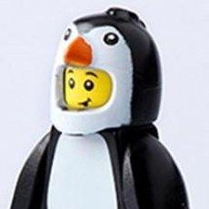 Reproducciones Figuras de Acción: FIGURA COMPATIBLE CON LEGO DE PINGÜINO. Lote 156783806