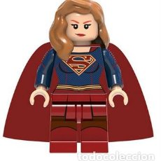 Reproducciones Figuras de Acción: FIGURA COMPATIBLE CON LEGO DE SUPERGIRL (MODEL 3). Lote 156783842