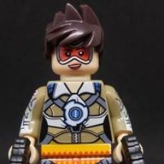 Reproducciones Figuras de Acción: FIGURA COMPATIBLE CON LEGO DE TRACER (OVERWATCH). Lote 156783866