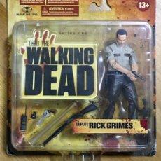 Reproducciones Figuras de Acción: RICK GRIMES - WALKING DEAD T1. Lote 159142536