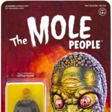 Reproducciones Figuras de Acción: THE MOLE PEOPLE (REACTION FIGURES). Lote 159418442