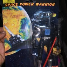 Reproducciones Figuras de Acción: FIGARA VINTAGE AÑOS 80/90 SPACE POWER WARRIOR MADE IN CHINA. POCO VISTO. GUSTABAN MUCHO. Lote 195387381