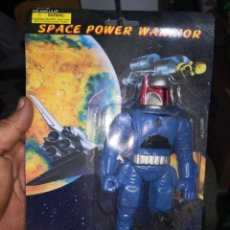 Reproducciones Figuras de Acción: FIGARA VINTAGE AÑOS 80/90 SPACE POWER WARRIOR MADE IN CHINA. POCO VISTO. GUSTABAN MUCHO. Lote 187019756