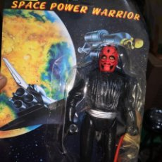 Reproducciones Figuras de Acción: FIGARA VINTAGE AÑOS 80/90 SPACE POWER WARRIOR MADE IN CHINA. POCO VISTO. GUSTABAN MUCHO. Lote 187021655