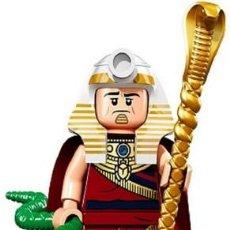 Reproducciones Figuras de Acción: FIGURA COMPATIBLE CON LEGO DE KING TUT (TUTANKAMÓN - FARAON). Lote 161963958
