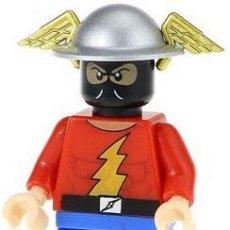 Reproducciones Figuras de Acción: FIGURA COMPATIBLE CON LEGO DE GOLDEN AGE REVERSE-FLASH RIVAL. Lote 163489862