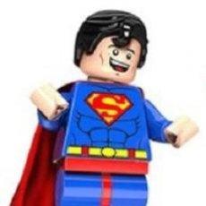 Reproducciones Figuras de Acción: FIGURA COMPATIBLE CON LEGO DE SUPERMAN. Lote 163491570
