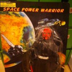 Reproducciones Figuras de Acción: FIGURA VINTAGE AÑOS 80/90 SPACE POWER WARRIOR, MADE IN CHINA. POCO VISTO TIPO STAR WARS. Lote 168978332