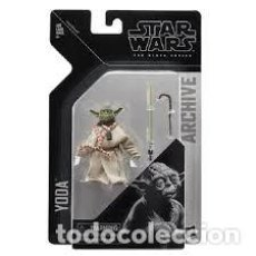 Reproducciones Figuras de Acción: YODA (THE BLACK SERIES). Lote 171057367