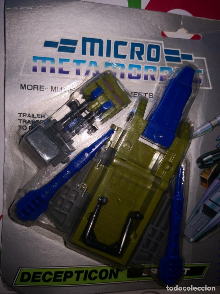 Reproducciones Figuras de Acción: Transformers bootleg autochange fighter micro transports master - Foto 3 - 173523418