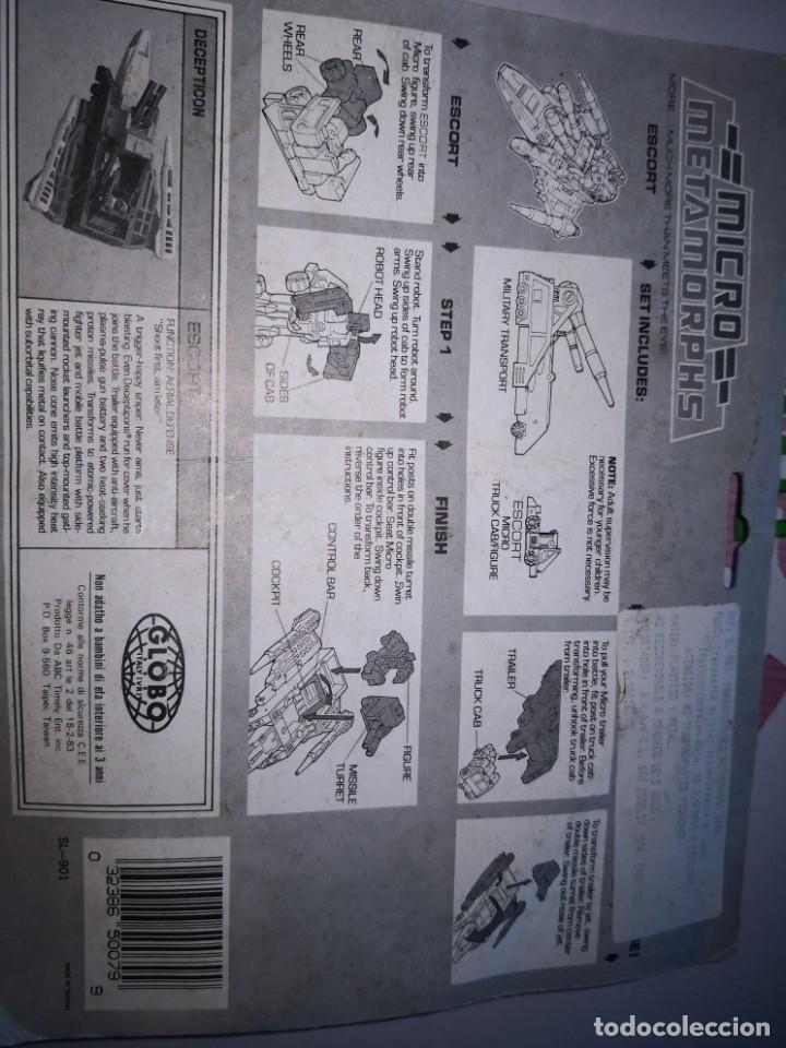 Reproducciones Figuras de Acción: Transformers bootleg autochange fighter micro transports master - Foto 4 - 173523418