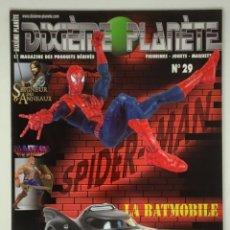 Reproducciones Figuras de Acción: REVISTA FIGURAS DE ACCIÓN DIXIÈME PLANÈTE Nº 29 SPIDER-MAN. Lote 174537357