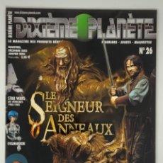 Reproducciones Figuras de Acción: DIXIÈME PLANÈTE Nº 26 LE SEIGNEUR DES ANNEAUX. Lote 174541368