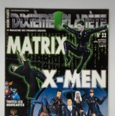 Reproducciones Figuras de Acción: REVISTA FIGURAS DE ACCIÓN DIXIÈME PLANÈTE Nº 22 MATRIX, X-MEN. Lote 174548639