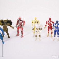 Reproductions Figurines d'Action: CONJUNTO DE 8 FIGURAS DE POWER RANGERS - GOLDAR, LORD ZEDD, POWER RANGER NINJA... - BANDAI, AÑOS 90. Lote 178936671
