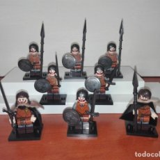Reproducciones Figuras de Acción: THE GAME OF THRONES, NORTEÑOS. Lote 182028597