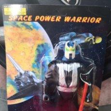 Reproducciones Figuras de Acción: FIGARA VINTAGE AÑOS 80/90 SPACE POWER WARRIOR MADE IN CHINA. POCO VISTO. GUSTABAN MUCHO. Lote 186228387