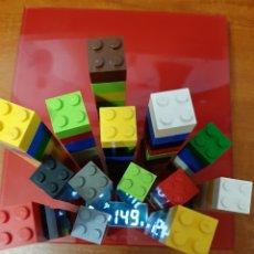 Reproducciones Figuras de Acción: LOTE DE PIEZAS DE LEGO O COMPATIBLES. Lote 189645976