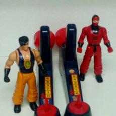 Reproducciones Figuras de Acción: KARATE FIGHTERS 2 FIGURAS Y MANDOS.. Lote 191095890