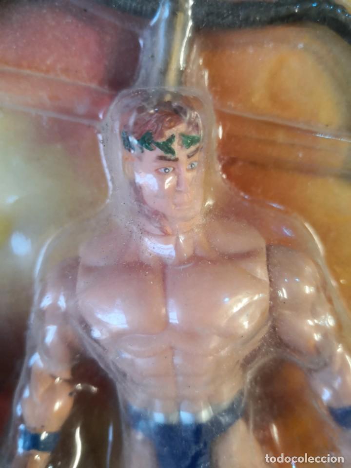 Reproducciones Figuras de Acción: Blister figura hércules y 3 cabezas . WITH THE POWER OF GOD - Foto 4 - 191727736