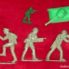 Reproducciones Figuras de Acción: LOTE SOLDADITOS Y TANQUE AÑOS 80 90?. Lote 192172138