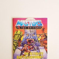 Reproductions Figurines d'Action: MINICOMIC THE ULTIMATE BATTLEGROUND MASTERS OF THE UNIVERSE HE-MAN SKELETOR ETERNIA PLAYSET REPLICA. Lote 192342222