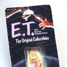 Reproducciones Figuras de Acción: E.T. EL EXTRATERRESTRE • FIGURA 6 CM ET DISFRAZADO • BLISTER ORIGINAL USA SIN ABRIR 1982. Lote 195322350