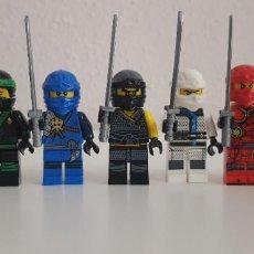 Riproduzioni Figure di Azione: LOTE DE 7 FIGURAS LEGO NINJAGO. COMPATIBLE CON LEGO. MAESTRO WU, LLOYD, JAY, COLE,ZANE, KAY,NYA. Lote 196977692