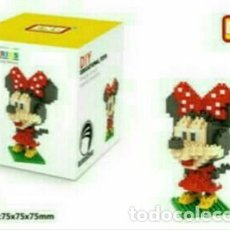 Reproducciones Figuras de Acción: MINNIE DE LA CASA DE MICKEY MOUSE, BLOQUES DE CONSTRUCCIÓN SÍMIL MINI LEGO (MINIE MINY). Lote 197425551