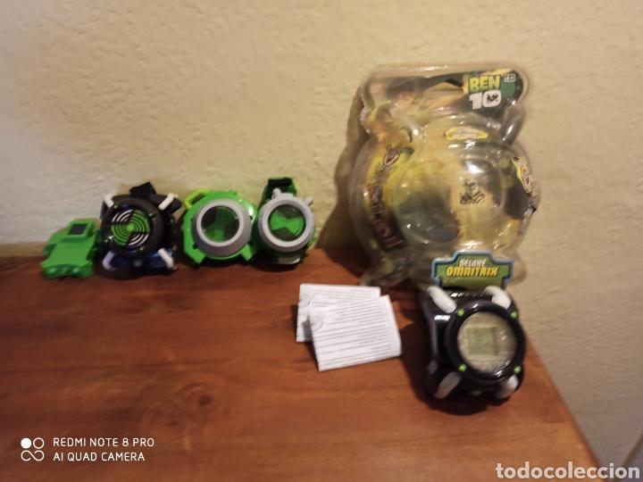Reproducciones Figuras de Acción: Reloj BEn 10 en blister y otros bandai decatalogado - Foto 4 - 210696217