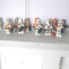 Reproducciones Figuras de Acción: LOTE DE 14 MINIFIGURAS STAR WARS LEGO Y COMPATIBLES VER FOTOS ADICIONALES DEL LOTE. Lote 201592182
