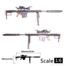 Riproduzioni Figure di Azione: LOTE ARMA FUSIL ASALTO M82 A1 - PARA FIGURAS 1/6 DE 30 CM COMO DRAGON, GEYPERMAN, ACTION MAN, ETC... Lote 201733825