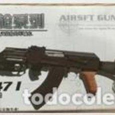 Reproducciones Figuras de Acción: LOTE ARMA FUSIL ASALTO AK 47I - PARA FIGURAS 1/6 DE 30 CM COMO DRAGON, GEYPERMAN, ACTION MAN, ETC... Lote 201738913