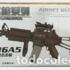 Reproducciones Figuras de Acción: LOTE ARMA FUSIL ASALTO M16 A5 - PARA FIGURAS 1/6 DE 30 CM COMO DRAGON, GEYPERMAN, ACTION MAN, ETC.. . Lote 201739670