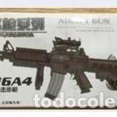 Reproducciones Figuras de Acción: LOTE ARMA FUSIL ASALTO M16 A4 - PARA FIGURAS 1/6 DE 30 CM COMO DRAGON, GEYPERMAN, ACTION MAN, ETC... Lote 201739826