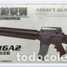 Reproducciones Figuras de Acción: LOTE ARMA FUSIL ASALTO M16 A2 - PARA FIGURAS 1/6 DE 30 CM COMO DRAGON, GEYPERMAN, ACTION MAN, ETC.. . Lote 201739937