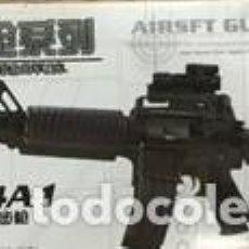 Reproducciones Figuras de Acción: LOTE ARMA FUSIL ASALTO M4 A1 - PARA FIGURAS 1/6 DE 30 CM COMO DRAGON, GEYPERMAN, ACTION MAN, ETC... Lote 201740932
