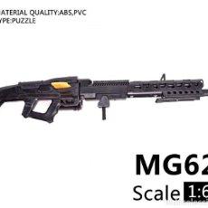 Reproducciones Figuras de Acción: LOTE ARMA AMETRALLADORA MG 62 - PARA FIGURAS 1/6 DE 30 CM COMO DRAGON, GEYPERMAN, ACTION MAN, ETC.. . Lote 201749916