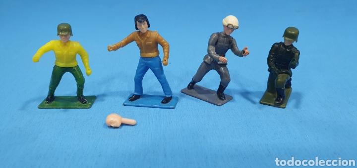 Reproducciones Figuras de Acción: 4 soldados de guisval, made in spain - Foto 2 - 204828085