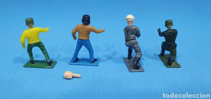 Reproducciones Figuras de Acción: 4 soldados de guisval, made in spain - Foto 3 - 204828085