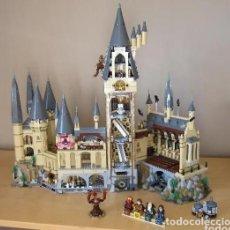 Reproducciones Figuras de Acción: CASTILLO DE HOGWARTS, HARRY POTTER, COMPATIBLE CON LEGO, CON SUS INTRUCCIONES, COMPLETO CON SUS INTR. Lote 205737005