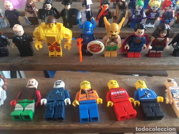 Reproducciones Figuras de Acción: GRAN LOTE 64 FIGURAS TIPO LEGO. NO TENTE. - Foto 3 - 205868222
